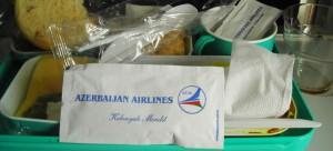 Uçakta yemek... :)