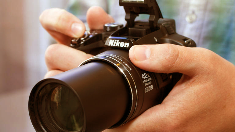 nikon coolpix p510 fotograf makinesi