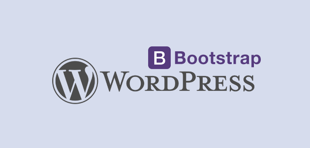 wordpress theme with bootstrap