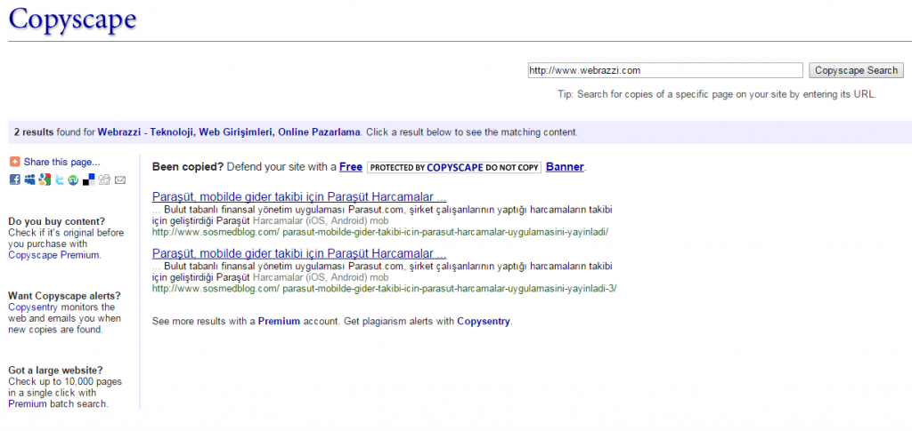 copyscape-site-check