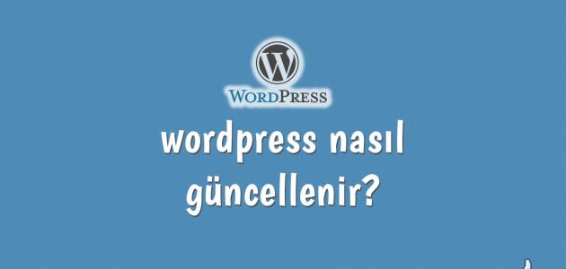 wordpress nasıl güncellenir
