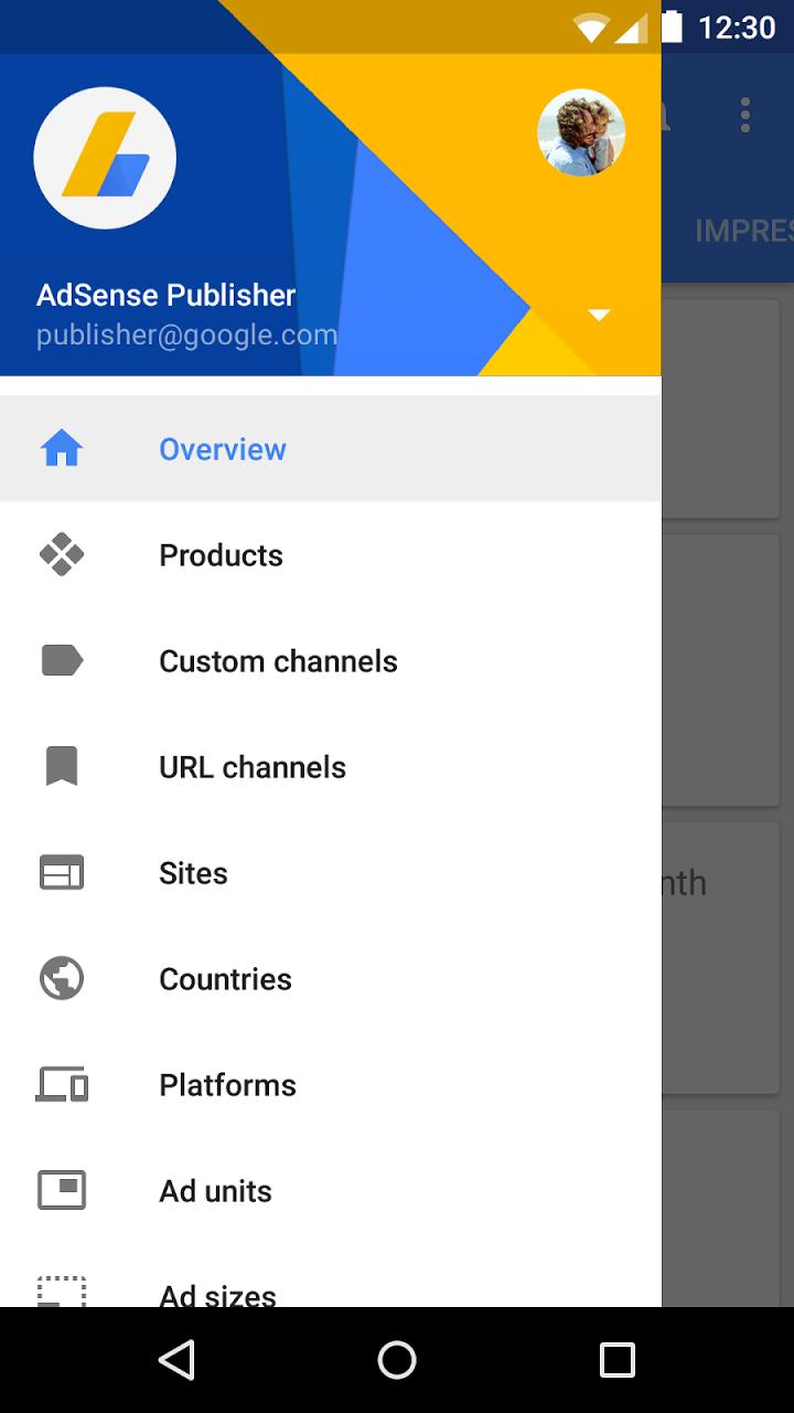 adsense android uygulaması güncellendi