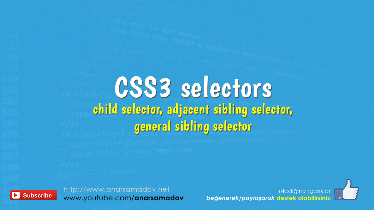 css-selectors-child-adjacent-sibling-general-selector