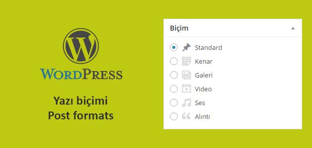 post formats wordpress