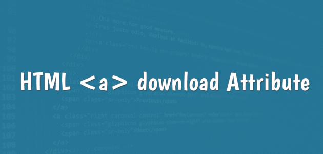 HTML 5 indirme özelliği - download.