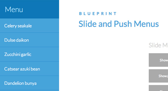 BlueprintSlidePushMenus