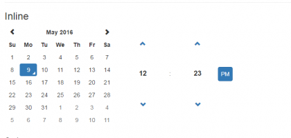 Bootstrap 3 Datepicker