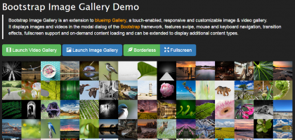 bootstrap image gallery