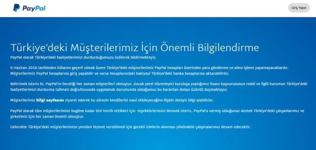 Online Ödeme Yapın ve Para Gönderin PayPal Türkiye