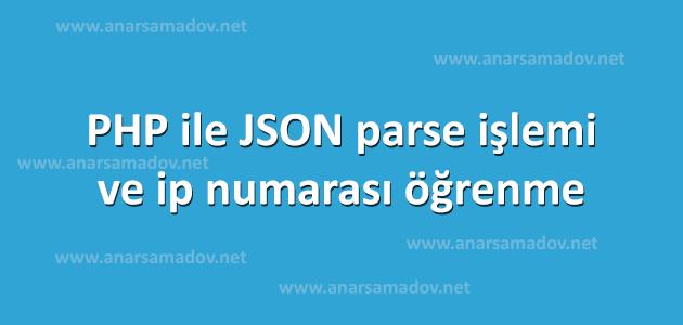 php-ile-json-parse-islemi-ip-numarasi-ogrenme