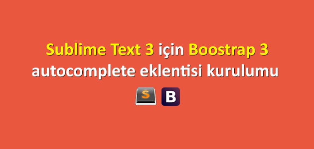 sublime-text-bootstrap-eklenti-kurulumu