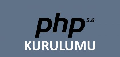 windows 7 üzerinde php 5.6 kurulumu