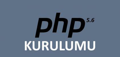 windows 7 üzerinde php 5.6 kurulumu