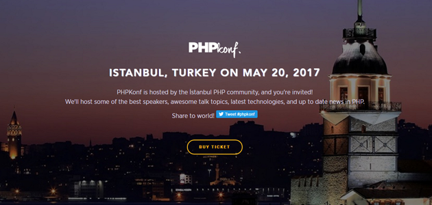 Istanbul php konf 2017