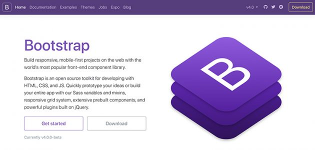 bootstrap-4-beta