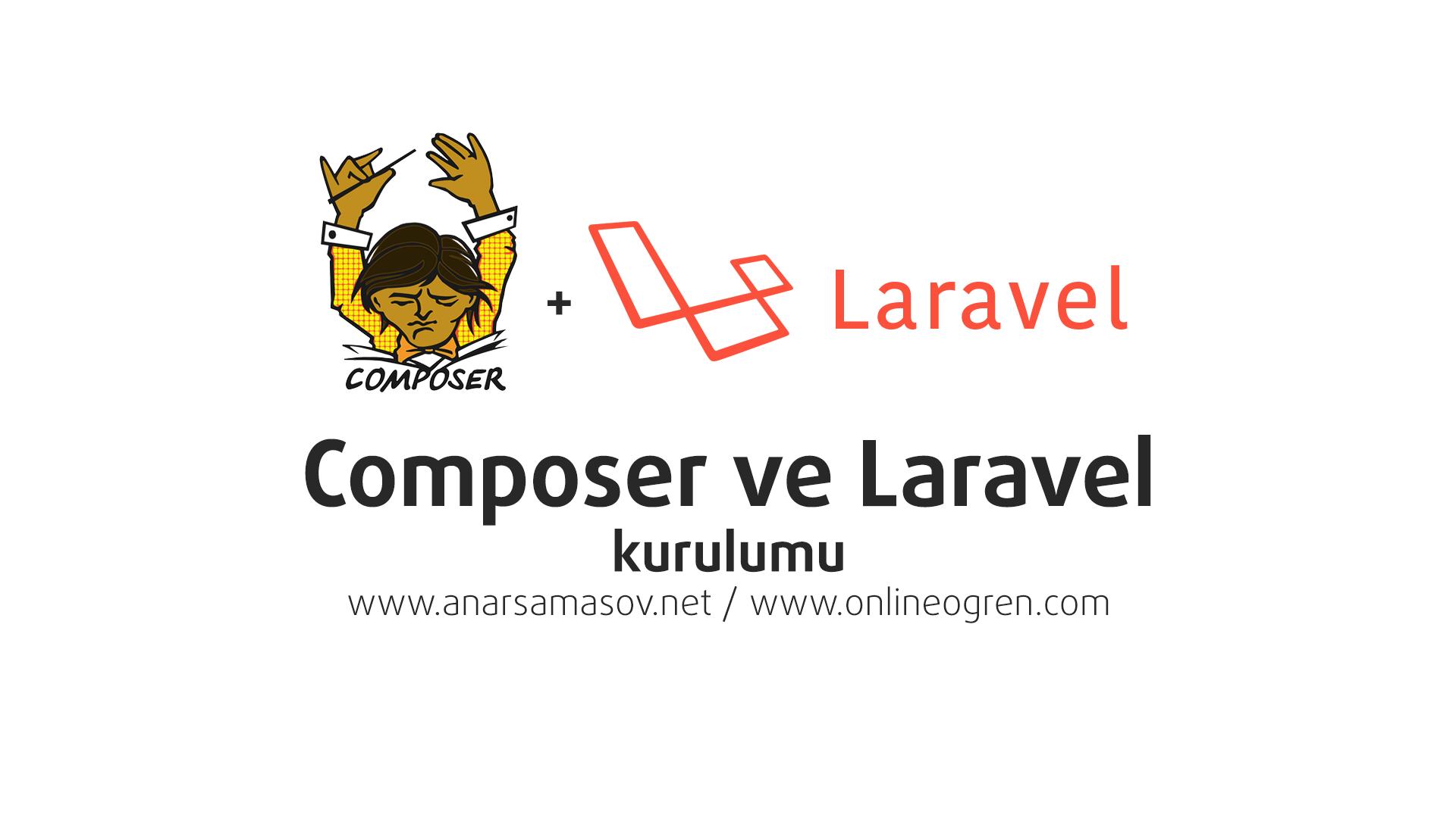 composer ve laravel