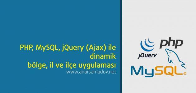php-mysql-jquery-ajax-ile-dinamik-bolge-il-ve-ilce-uygulamasi
