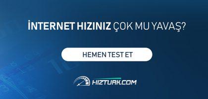 Yerli İnternet Hız Testi Girişimi